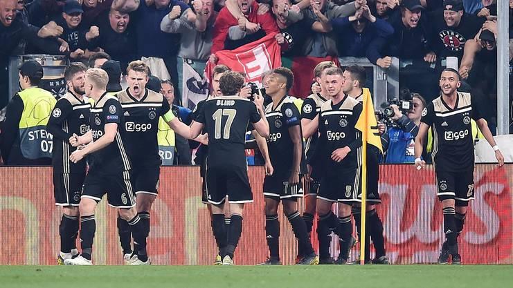 Jubeln die Jungspunde aus Amsterdam auch im Halbfinal gegen Tottenham?