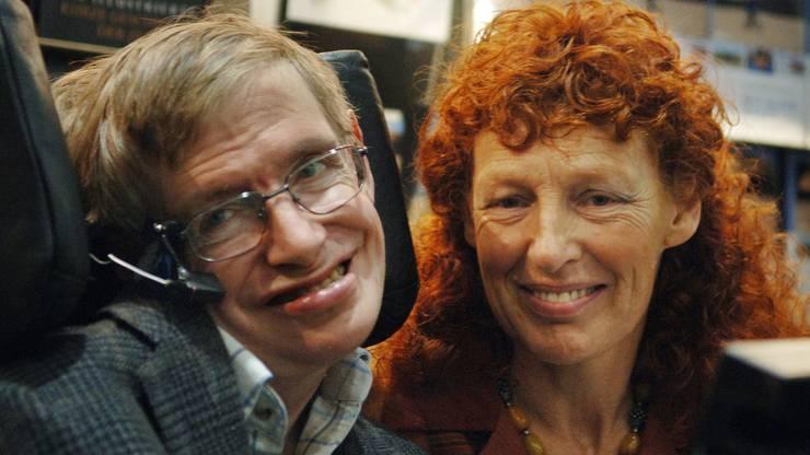 Später heiratete er erneut. Auf dem Foto zu sehen sind er und seine neue Frau Elaine (2005)