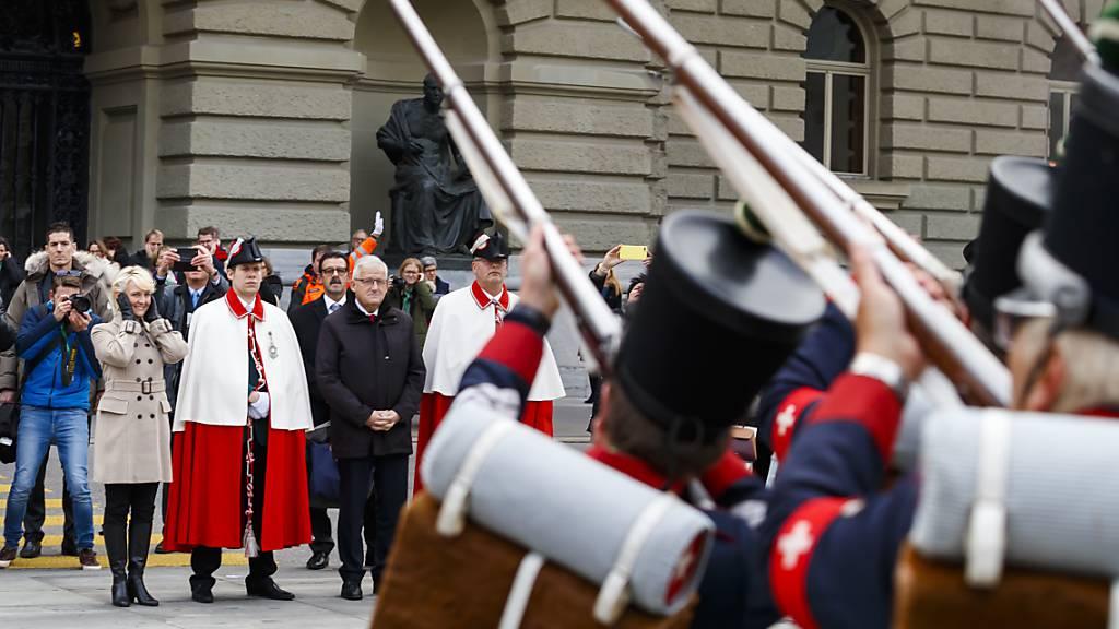 Höchste Schweizerin wird in der Waadt gefeiert