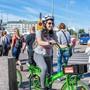 Tempo 30 freut auch Velofahrer: Die Strassen in Helsinki werden immer sicherer.