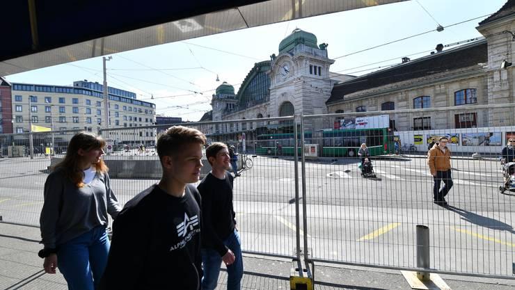 Centralbahnplatz-Umbau