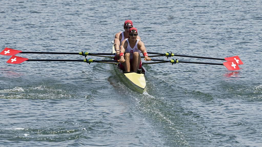 Roman Röösli und Barnabé Delarze waren im Final ohne Chance