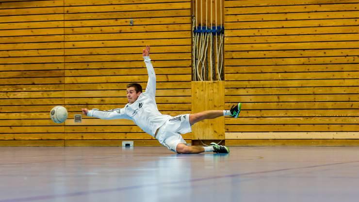 Reto Hunziker und seine Teamkollegen vom STV Oberentfelden kämpften um jeden Ball, gingen am Ende aber leer aus.