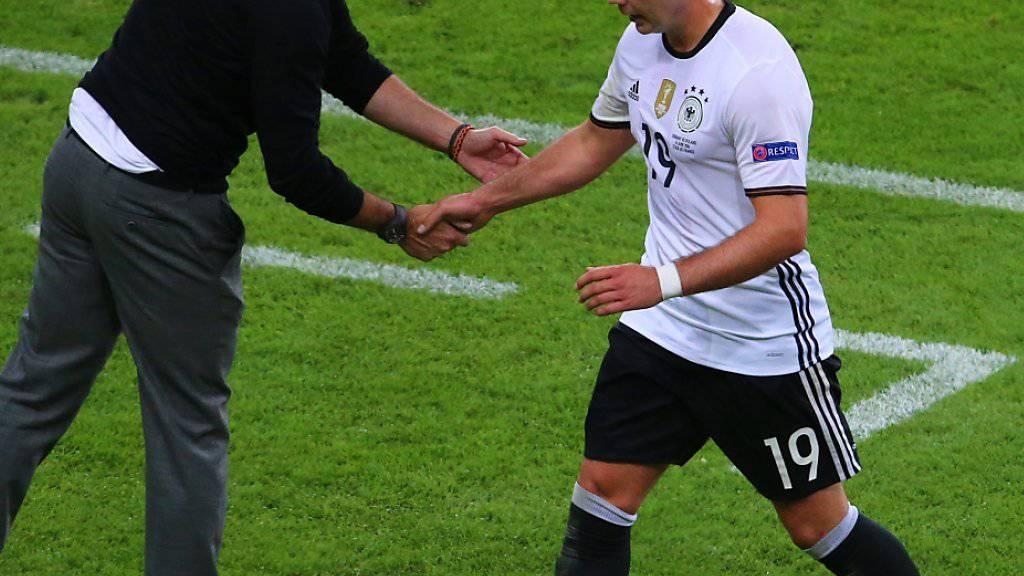 Nach fast einem Jahr wieder in Deutschlands Nationalteam: Mario Götze