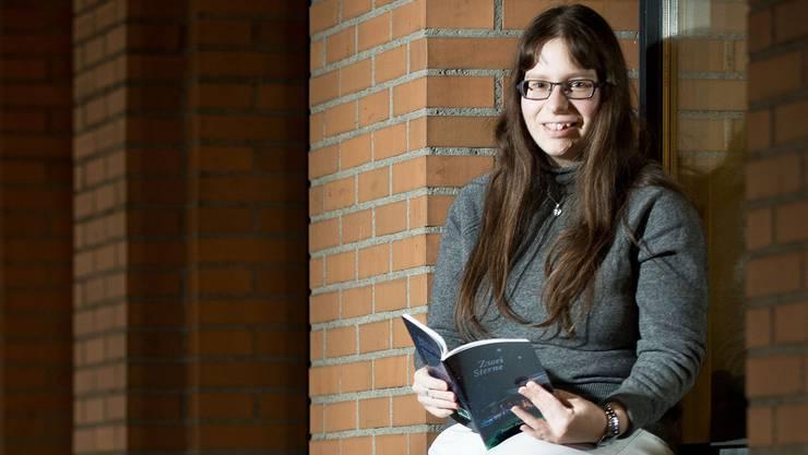 Jasmin Patzen liest ihre Bücher auch gerne selber.