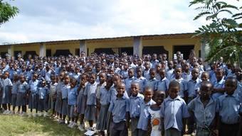 Glück im Unglück Diese Schulkinder aus Hinche blieben vom Erdbeben verschont.