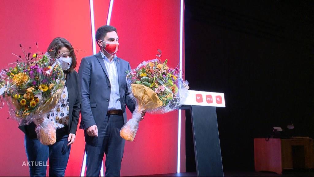 Führungs-Duo: Mattea Meyer und Cédric Wermuth sind neue SP-Präsidenten