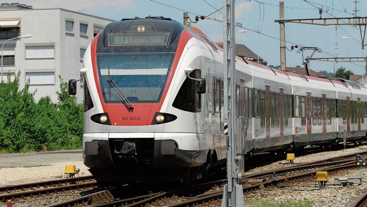 Heute verkehren die Züge nur bis Laufenburg. Künftig sollen sie auch wieder zwischen Laufenburg und Koblenz verkehren.