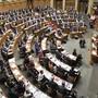 Die Vereinigte Bundesversammlung im Nationalratssaal.