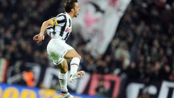 Alessandro Del Piero für Juve nach wie vor Gold wert.