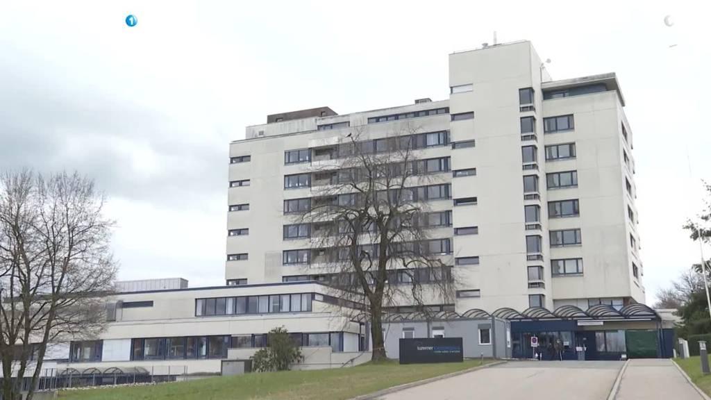 Besuche am Luzerner Kantonsspital werden eingeschränkt