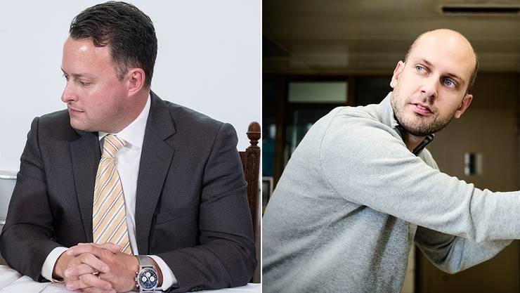 Frehner vs. Thüring: Am Donnerstag kommt es zum Showdown.