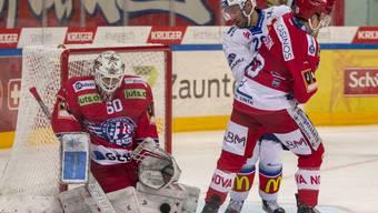 Kein Durchkommen für die ZSC Lions gegen Rapperswil-Torhüter Melvin Nyffeler