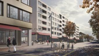 Auch einen neuen Bahnhofplatz soll Schlieren erhalten.