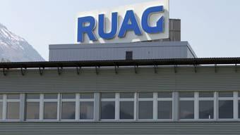 Saab hat Auftrag für Ruag (Archivbild Gelände Stans-Ennetbuergen)