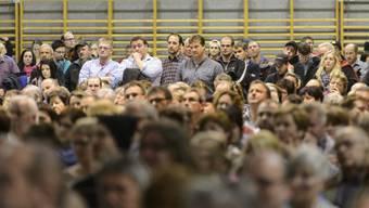 Fast tausend Personen nahmen am Informationsanlass teil