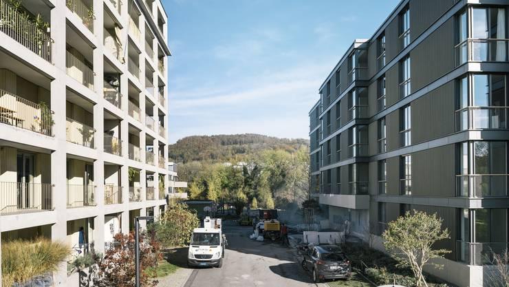 Das Kunzareal in Unterwindisch macht die Urbanisierung sichtbar.