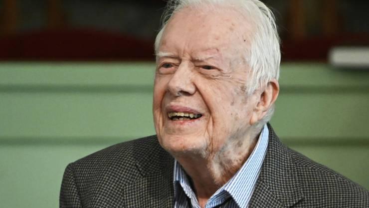 Der frühere US-Präsident Jimmy Carter (95) ist nach einer Harnwegsinfektion wieder aus dem Spital entlassen worden. Zuhause in Plains in Bundesstaat Georgia will er sich nun erholen.