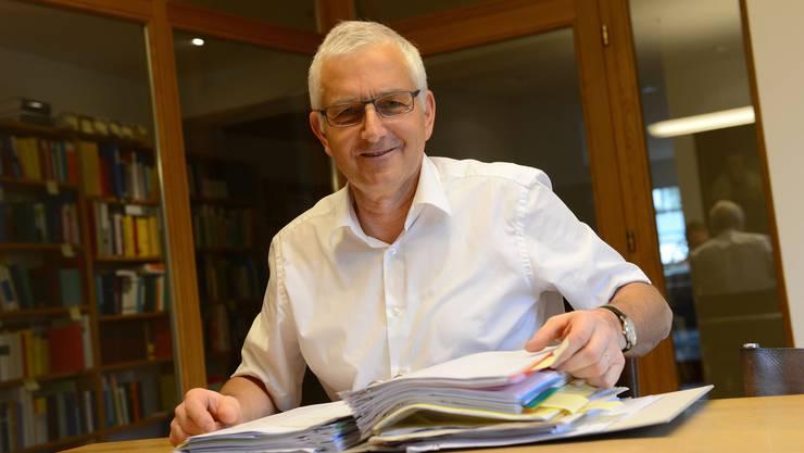 Caspar Baader, alt Nationalrat und Ex-Präsident der SVP-Bundeshausfraktion, leitet die Suche zur Nachfolge von Parteipräsident Albert Rösti.