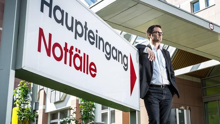Direktor Daniel Schibler will das Spital Menziken bereits in diesem Jahr wieder zurück in die Gewinnzone führen.