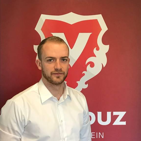 Pascal Foser, Mediensprecher des FC Vaduz. (Bild: pd)