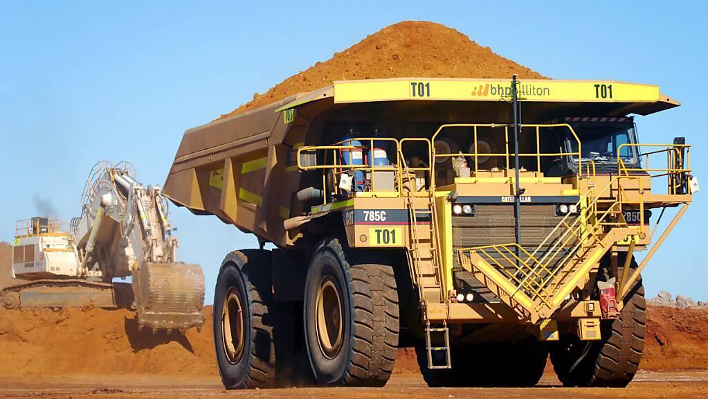 Der Bedarf nach dem Rohstoff Nickel dürfte in den nächsten Jahren deutlich zunehmen. Im Bild: Ravensthorpe-Nickelmine in Westaustralien. (Archivbild)