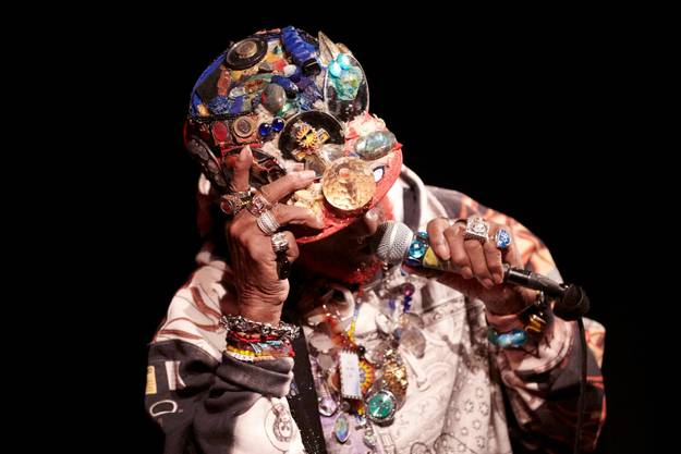 Lee Scratch Perry: Wie ein Alien vom Rasta-Planeten.