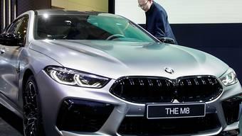 Coronavirus: Beim Februarabsatz spürt BMW in China eine deutliche Delle. (Archivbild)