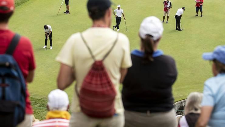 Auf den Schweizer Golfplätzen ist wieder etwas los