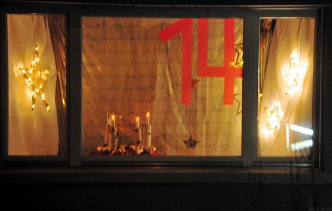 Das Fenster der Familie Knuchel/Supper an der Däderizstrasse