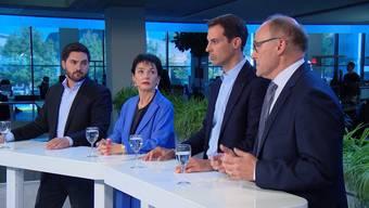 Cédric Wermuth, Marianne Binder, Thierry Burkart und Hansjörg Knecht: Hier finden Sie einen Zusammenschnitt der spannendsten Aussagen der Ständeratskandidaten der grossen Parteien.
