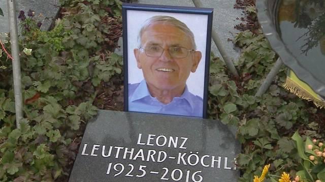 Abschied von Leonz Leuthard