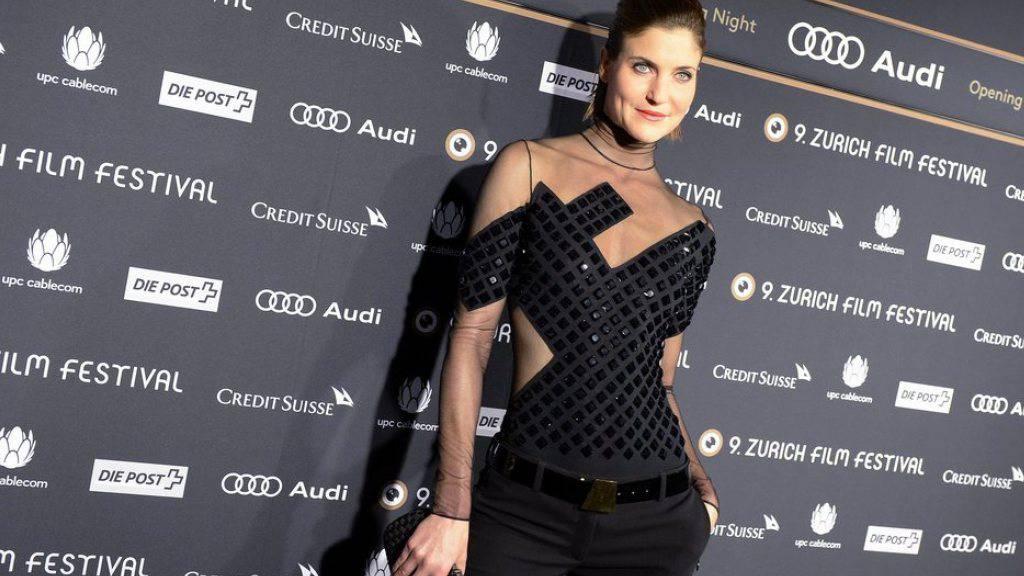 Moderatorin Annina Frey am Eröffnungsabend des 9. Zurich Film Festival 2013 (Archiv)