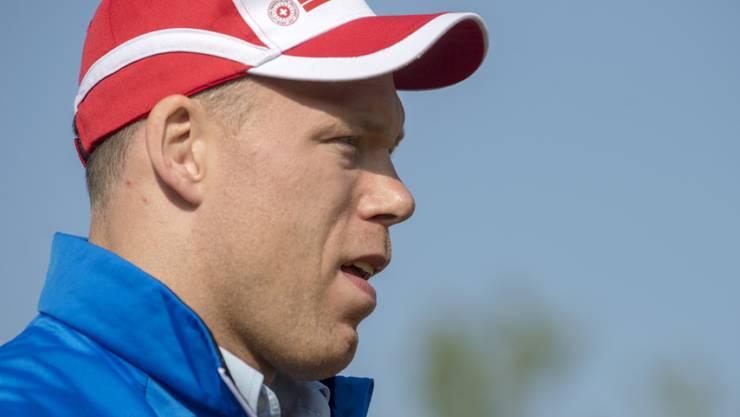 Der Grund für seine Zwangspause ist bekannt: Schwinger Matthias Sempach hat einen Bandscheibenvorfall erlitten. (Archivbild)