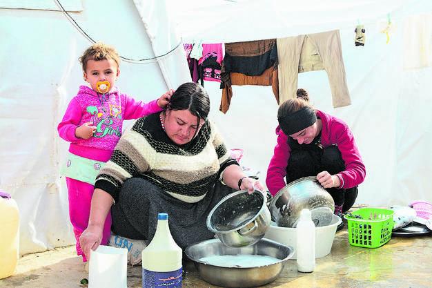 Die Heimat der Jesiden ist die Region Sinjar im Nordirak