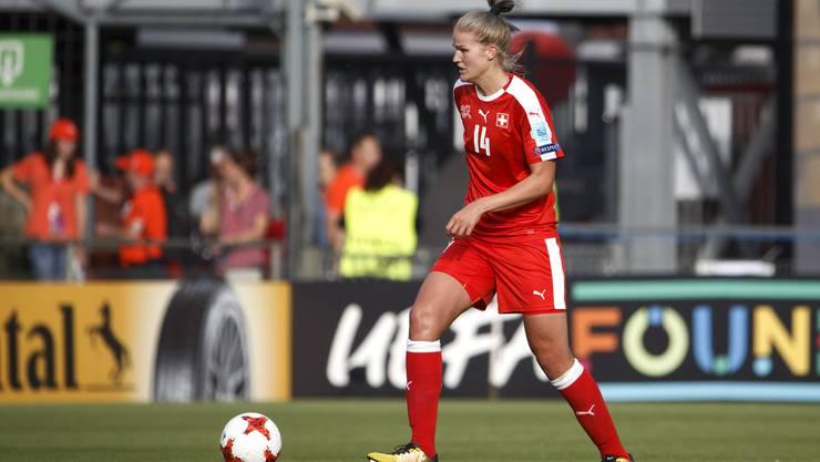 Das knappe Ausscheiden in der Gruppenphase sorgt bei Rahel Kiwic für Frust. Bald beginnt für sie bereits wieder der Ligaalltag in Deutschland.