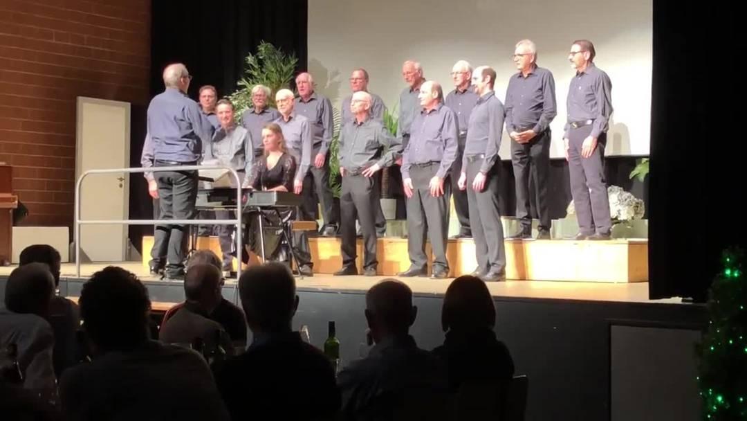 Der Maennerchor Engstringen singt  «Intrada a Capella»