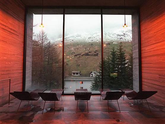 Erbaut vom Stararchitekten Peter Zumthor: Die Therme Vals (Archiv)