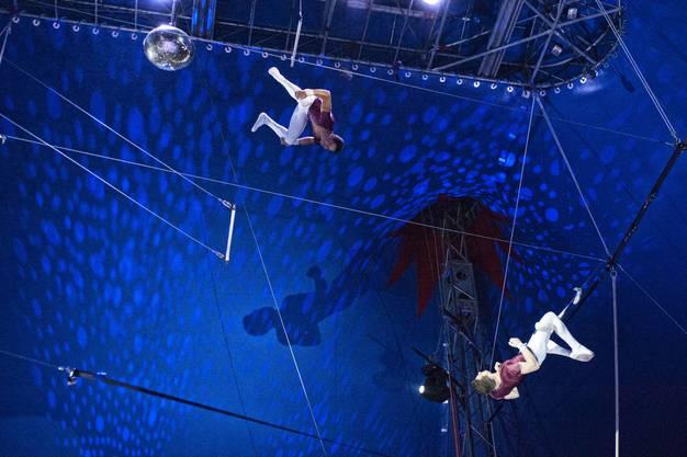 Zirkus Nock feierte Premiere des neuen Programms.