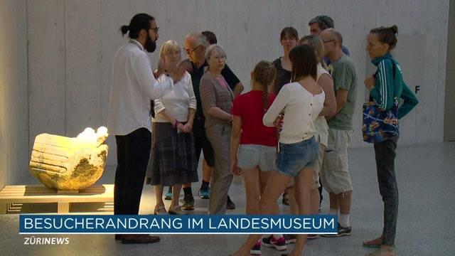 10'000 an Landesmuseum-Eröffnung