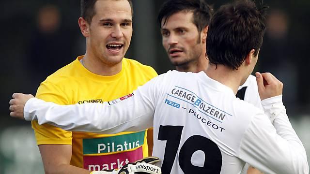 Hüter Franck Grasseler rettete den Bielern das Remis in Lugano.