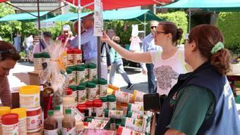 Impressionen vom Frühlingsmarkt in Aesch