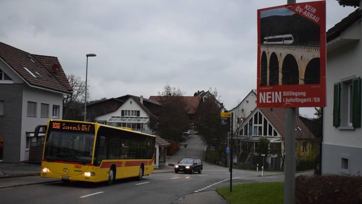 Der 108er-Bus wäre der Läufelfingerli-Ersatz. Beim Fahrplan ging aber eine wichtige Kundengruppe vergessen: die Schüler.
