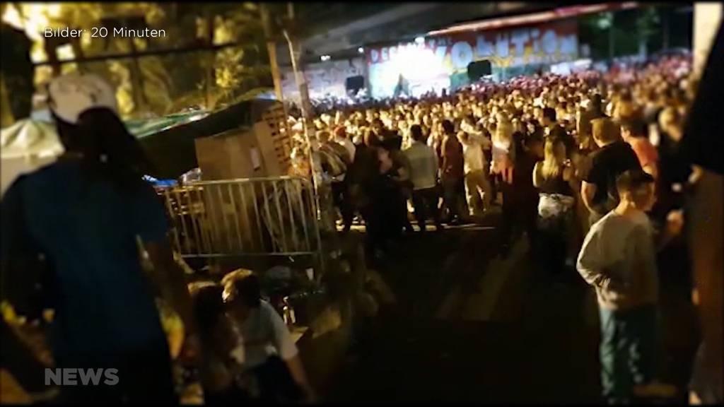 Hunderte Lärmklagen wegen illegaler Techno-Party vor Berner Reitschule