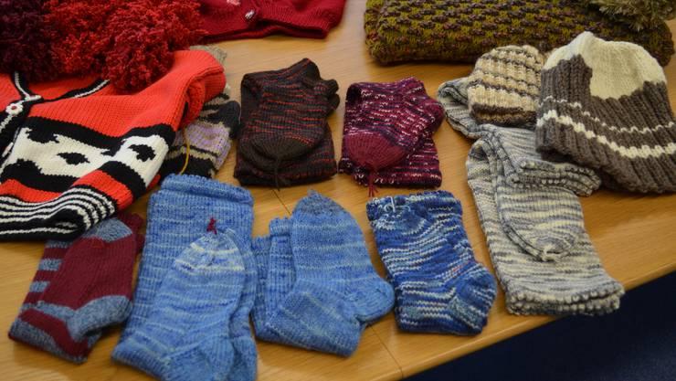 Warme Socken für die Winterzeit.