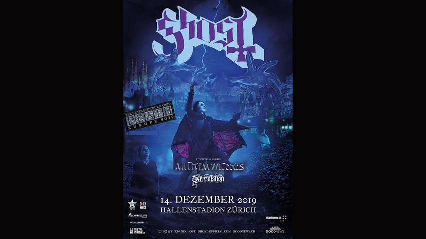 Ghost - mehr als nur ein Rockkonzert - finde es raus!