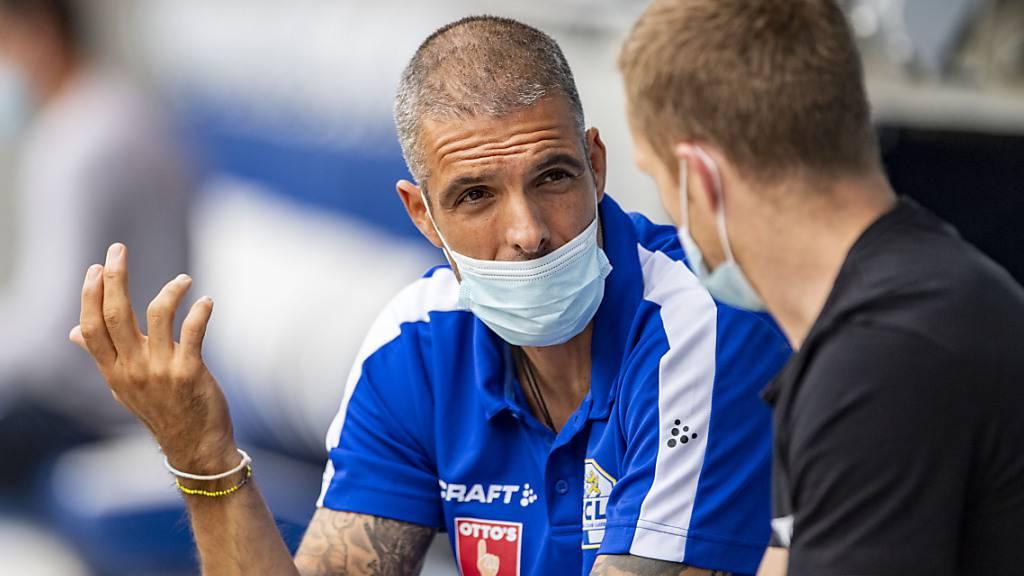 Trainer Fabio Celestini muss mit seinen Spielern in Quarantäne