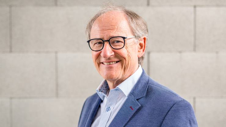 FC-Baden-Präsident Heinz Gassmann.