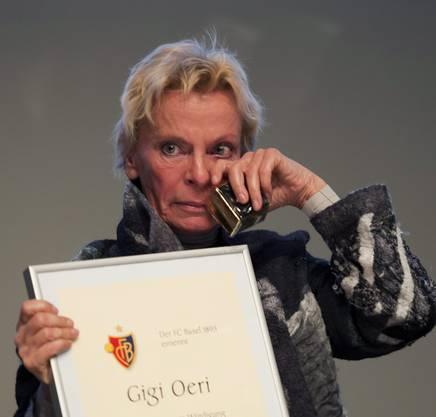 Gerührte Gigi Oeri
