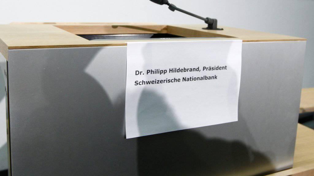 Ein IT-Mitarbeiter der Bank Sarasin brachte den Nationalbank-Präsidenten zu Fall. Demnächst steht er vor dem Bezirksgericht Zürich. (Archivbild)
